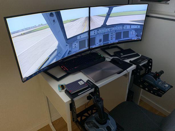 Setup Completo Simulador de voo!