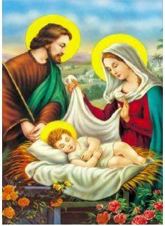 Картина для рисования камнями Diamond Святое семейство с ребенком Харьков - изображение 1
