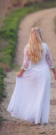 Suknia ślubna uszyta na zamówienie!