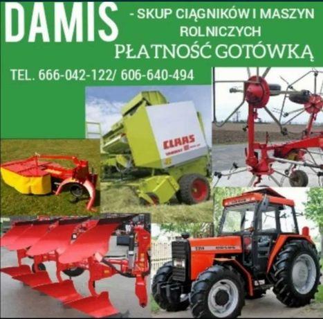 Skup ciągników i maszyn rolniczych