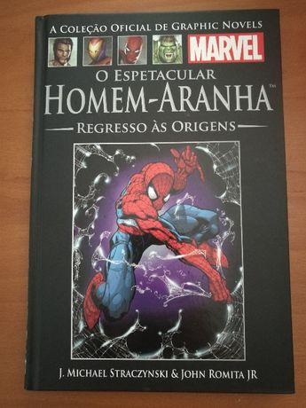 Graphic novel Marvel (Salvat) - Homem-Aranha