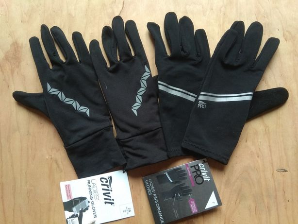 Перчатки для бега Сrivit