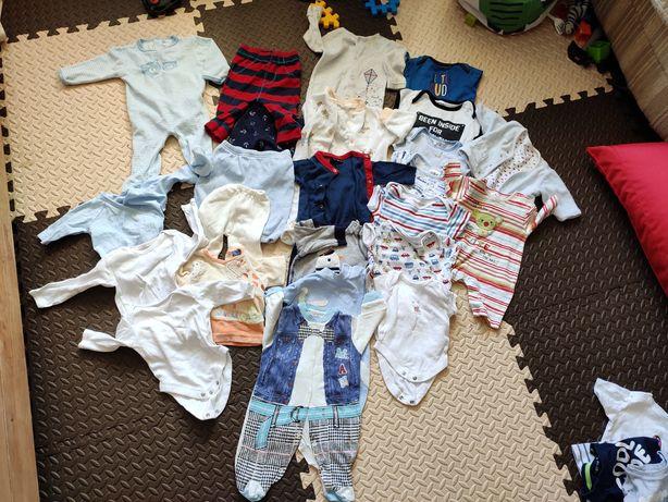 Большой комплект пакет набор одежды для мальчика 0-3 3-6 мес.