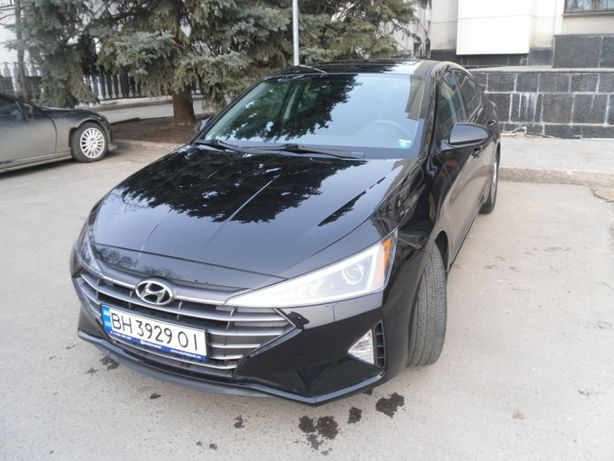 Hyundai Elantra RESTAILING 2018