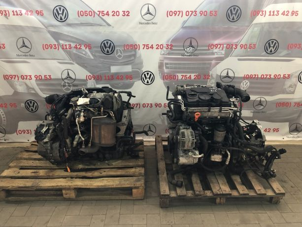 Двигатель Мотор VW Caddy 1.9 BLS Двигун Кади Skoda Seat Каді Шкода