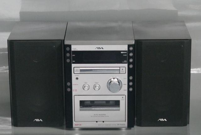 Wieża mini AIWA - odtwarzacz CD, tuner i magnetofon kasetowy
