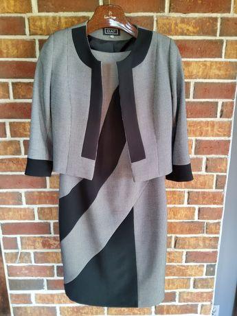 Komplet: Sukienka z żakietem