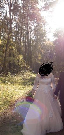 Suknia ślubna rozm 52