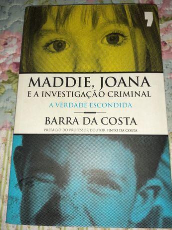 Livro  Maddie, Joana e a Investigação Criminal de Barra da Costa