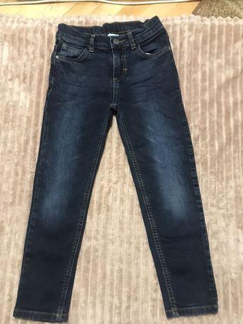 Продам штани джинси на хлопчика на 5/6 років 166-122 см