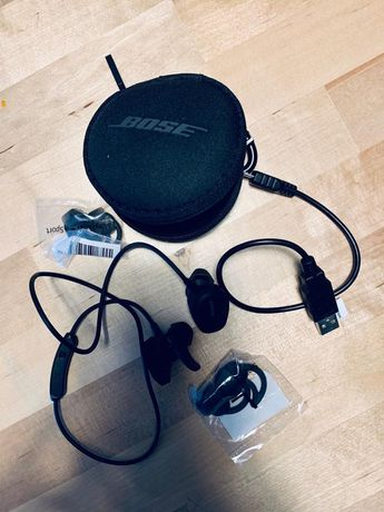 Słuchawki Soundsport Bose Czarne
