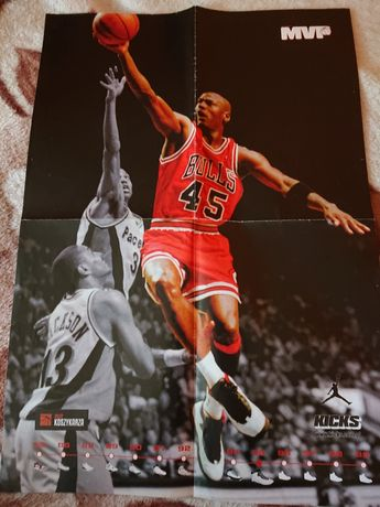 Michael Jordan Chicago Bulls Plakat Poster MVP Magazyn