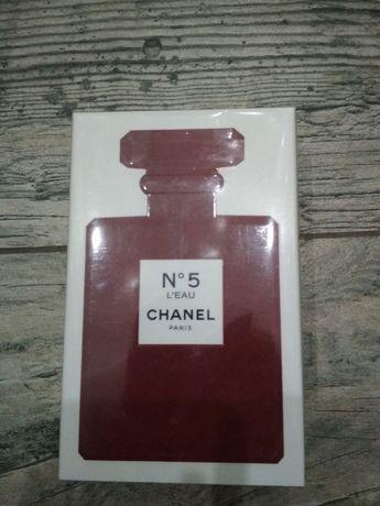 Chanel No 5 L'Eau Red edition 100 ml женские духи подарок к 8 марта
