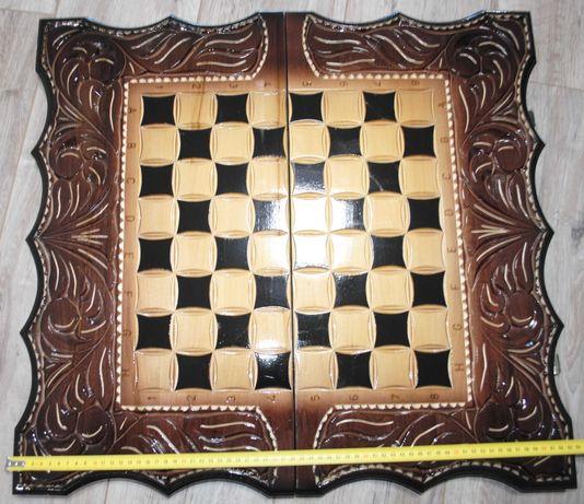Вип подарок ручной работы парусник 63 см в чехле шашки шахматы нарды.