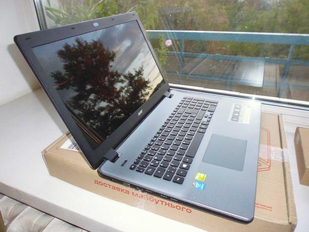 Acer Aspire E17/17,3 HD+/Intel Core i5/8GB/SSD 240GB/GeForce 840M-2GB