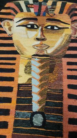 Gobelin wełniany egipski kilim makata  duży