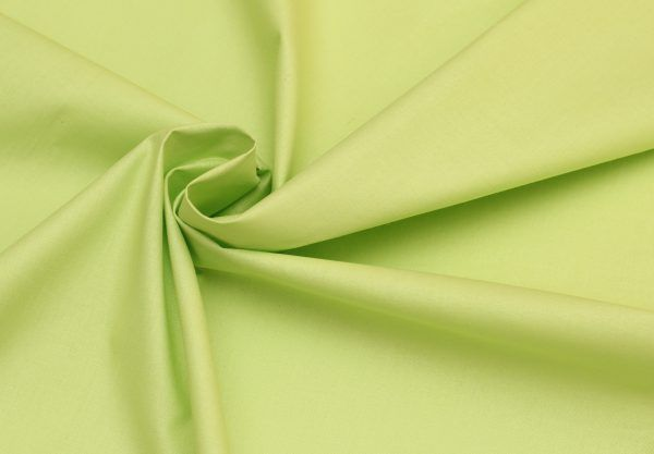 Tkanina 100% bawełna na maseczki 160cm. szerokość 140g/m2 zielona