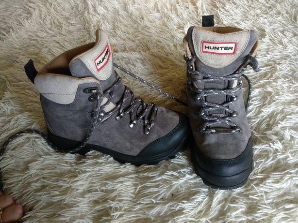Ботинки  Hunter 36 размер event замш кожа