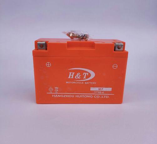 Аккумулятор H&T, YT9B-4, 12V9A; цена 650 грн