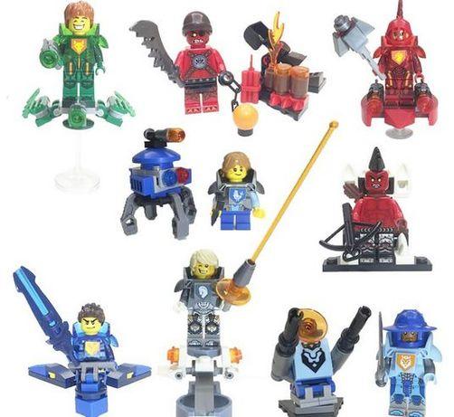 Bonecos minifiguras Cavaleiros Nexo Knights nº1(compativel c/ Lego)