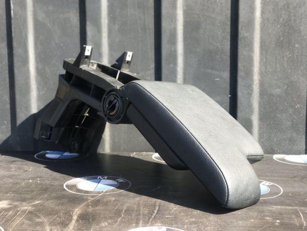 Чорний Шкіряний Підлокотник на Бмв Е46 Кожа Подлокотник