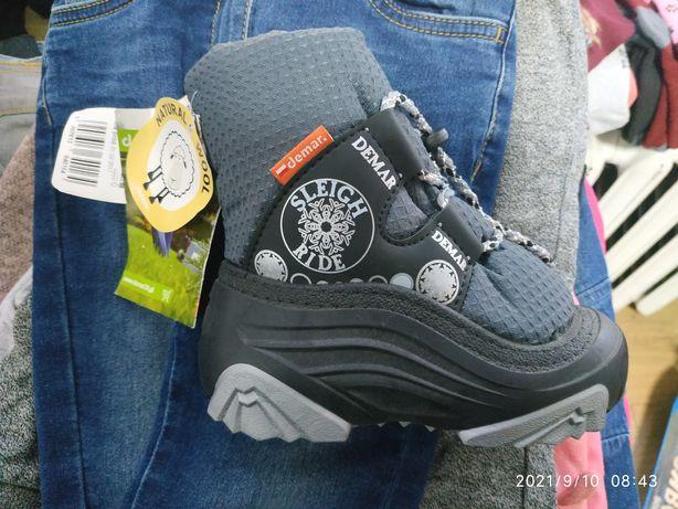 ботинки  Demar натуральная шерсть