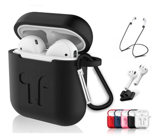 Airpods Cover - Capas para Apple AirPods / I9S / I10 (AirPods n/incl)