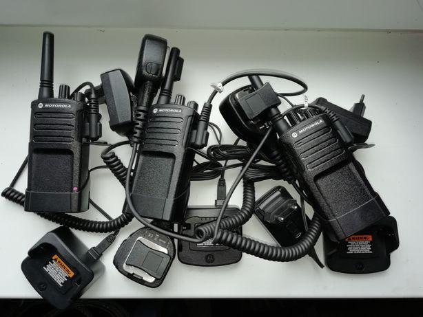3 szt Motorola Xt420 + Mikrofonogłośnik