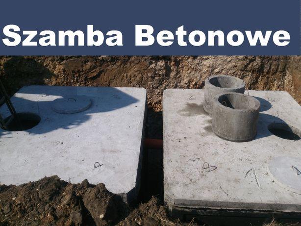 Zbiornik betonowy szambo szamba kanał samochodowy betonowe