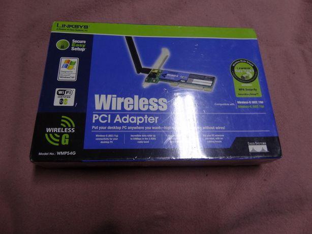 PCI-adaptador Wireless-G modelo WMP54G novo