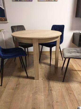 Okrągły stół rozkładany