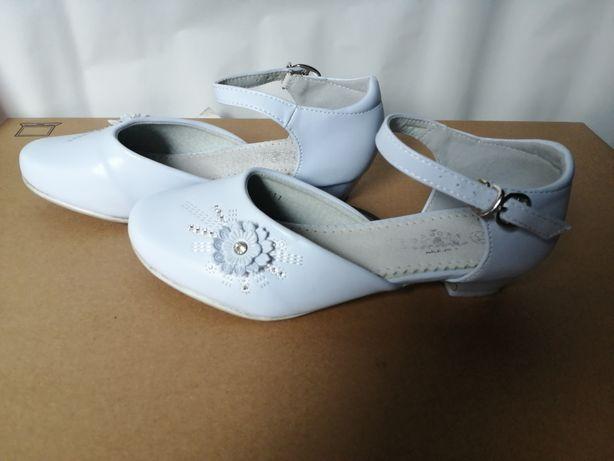Buty lakierki dla dziewczynki