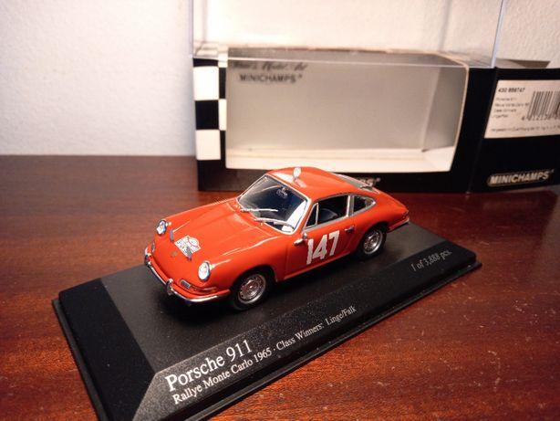 Minichamps - Porsche 911S #147 - Rally Monte Carlo 1965
