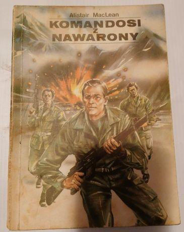 Alistair McLean książka sensacyjna Komandosi z Nawarony