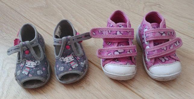 Buty dla dziecka firmy Befado 2 pary