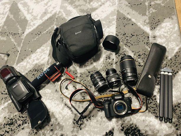 Aparat Canon Eos M50 + dodatki
