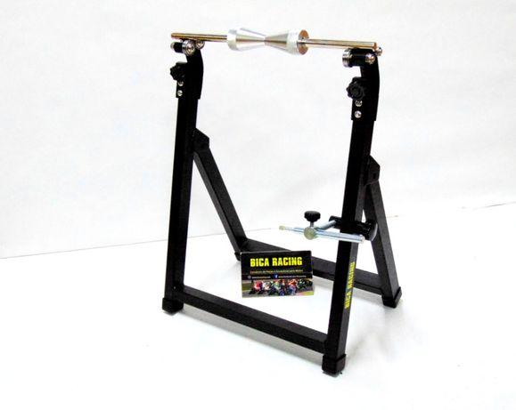 Maquina calibrar / desempenar pneus jantes aros moto