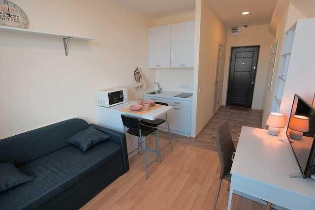 Почасово (посуточно) аренда квартиры в новом ЖК Smart Hause-1