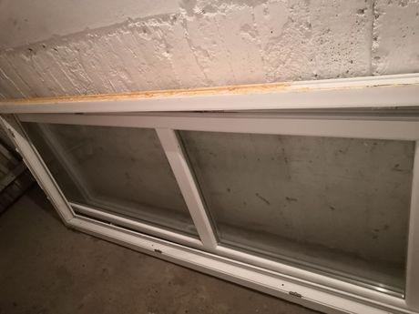 Okno balkonowe używane