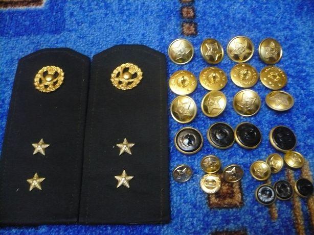 Пуговицы военные СССР