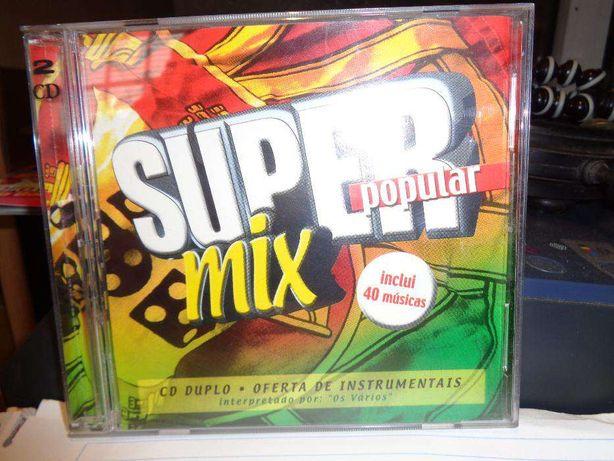 CD Duplo Super Mix Popular para oferecer no Natal