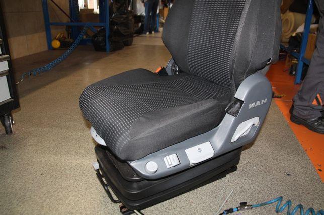 Fotel do ciągnika MAN SCANIA Renault Mercedes Volvo naprawa foteli
