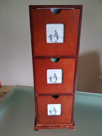 Porta CD's Cerejeira