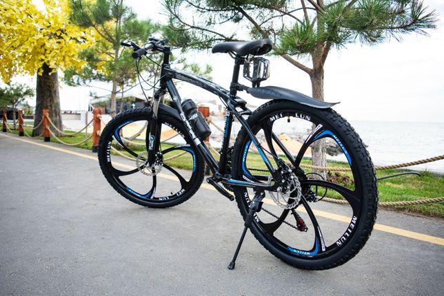 """СУПЕР ЦЕНА! Велосипед BMW 3 Подарка, 26"""" колёса, горный. Литые диски"""