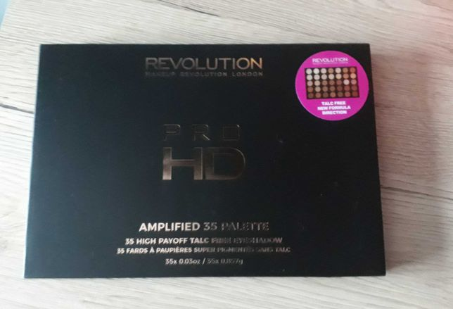 Makeup Revolution Pro HD Amplified nowa paleta 35 cieni Direction