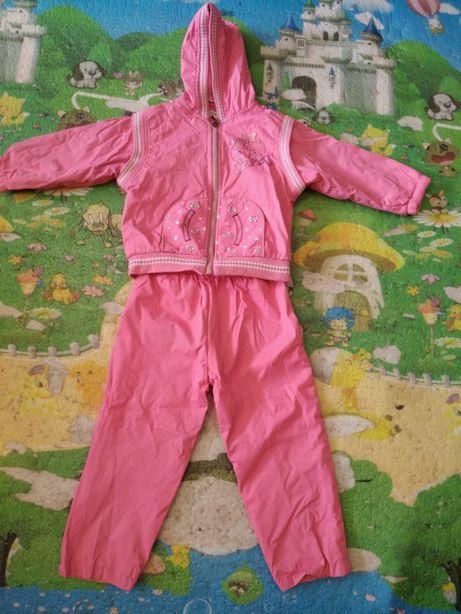 Куртка и штаны демисезонные (костюм), на 2-4 года