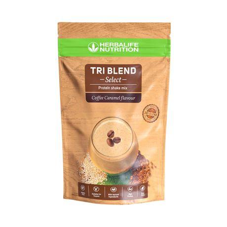 Tri Blend Select koktajl proteinowy kawowo-karmelowy 600g Herbalife