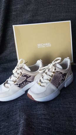 Michael Kors Cosmo r 38 Nowe oryginalne sneakersy skóra naturalna
