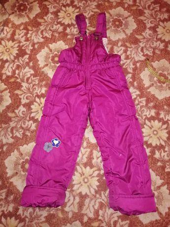 Зимний полукомбинезон, зимние штаны.