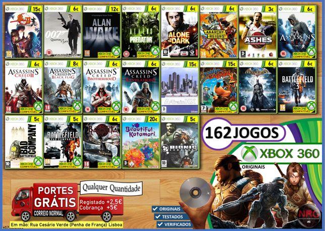 [XB360] 162 Jogos XBOX 360 (PORTES GRÁTIS Qualquer Quantidade)